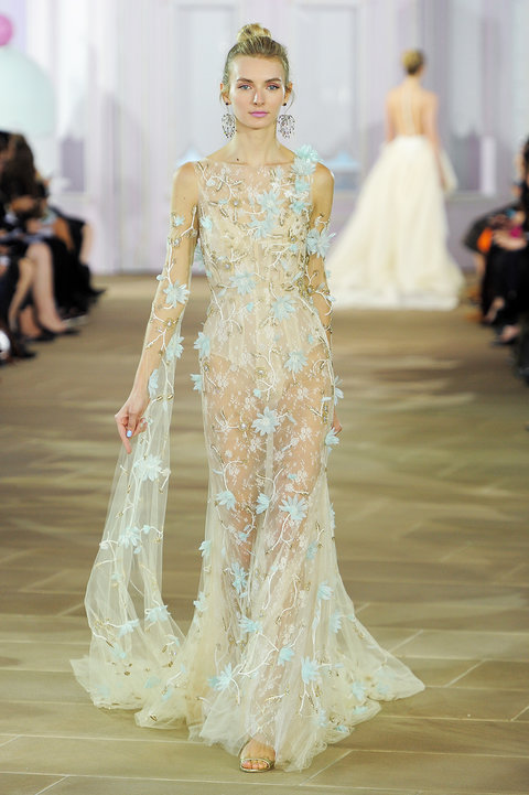 Ines di Santo, Bridal Fall 2017, New York, October 7 2016