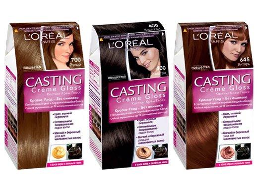 краски для седых волос лореаль