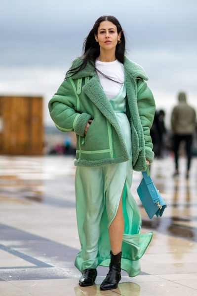 08-green-jacket-dress-t-shirt-street-style