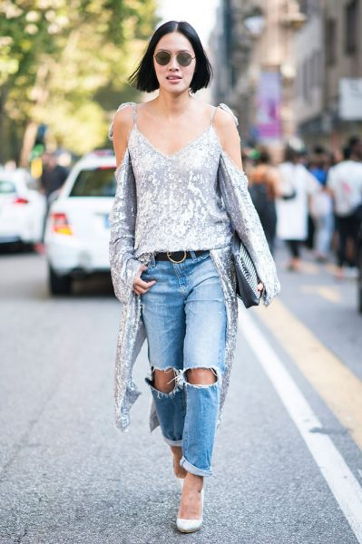 19-silver-sequin-top-ripped-jeans-street-style