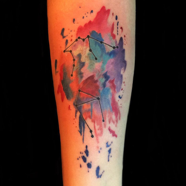 jmtattoos-arm-constellation-watercolor-tattoo