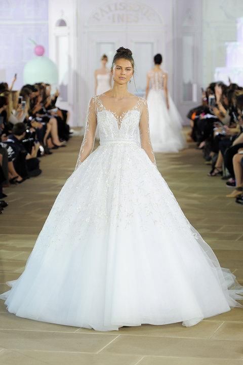 Ines di Santo, Bridal Fall 2017, New York, October 7 2016