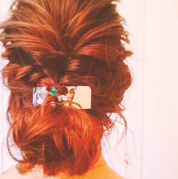 ao-seto-barrette-braided-updo-red-hair