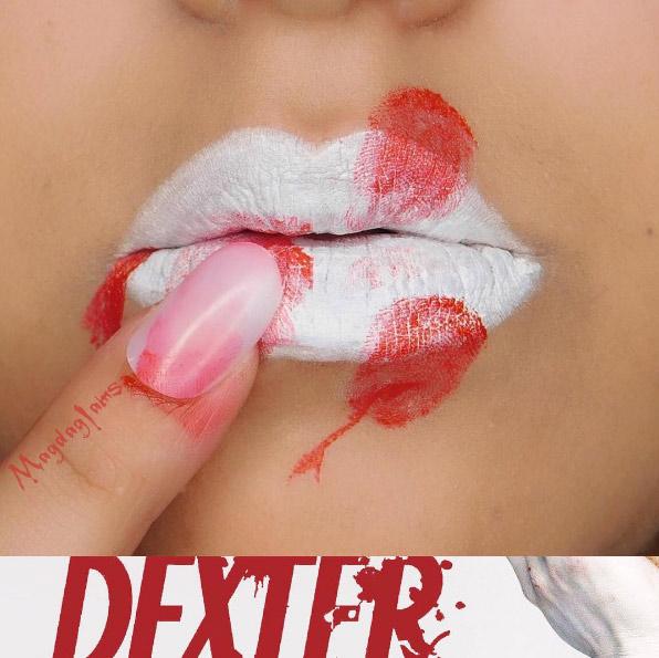magdaglams-white-bloody-finger-dexter-halloween-lip-art