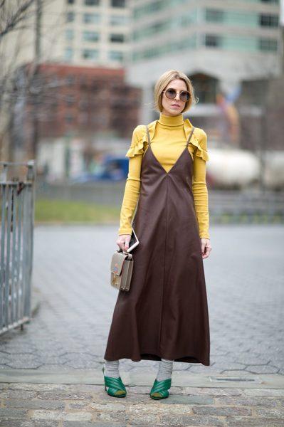 01-brown-slip-dress-yellow-top-street-style