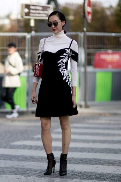07-ivory-turtleneck-black-dress-boots-street-style