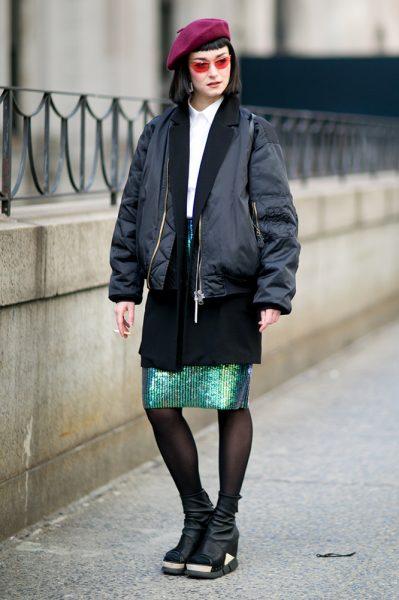 12-black-jacket-long-blazer-sequin-skirt-street-style