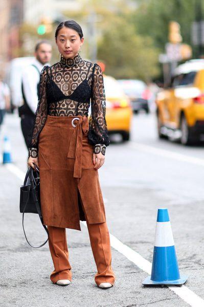 13-black-lace-top-black-bra-brown-pants
