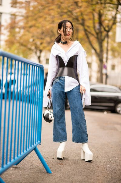 13-white-blouse-black-bustier-jeans-white-platform-boots-street-style