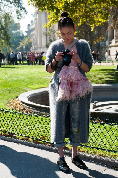 22-teal-jacket-feathered-pink-top-ripped-jeans-street-style