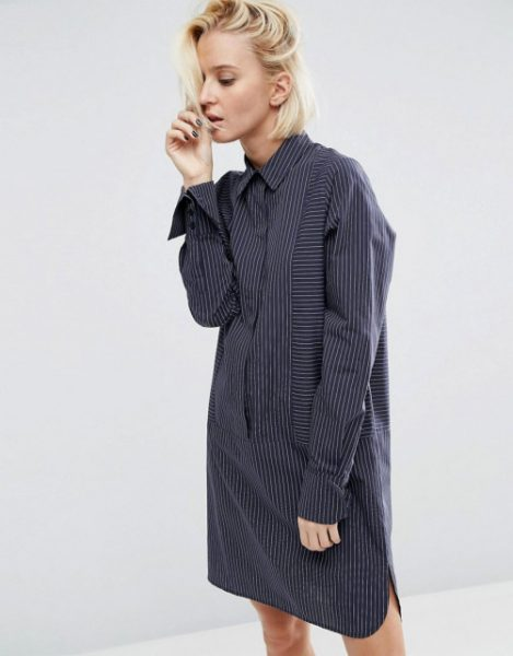 asos-cotton-shirt-dress-with-oversized-cuff-in-pinstripe