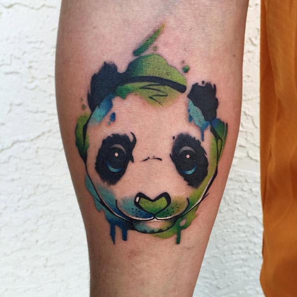 coryconnellart-arm-panda-watercolor-tattoo